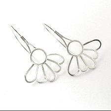 Daisy Earrings by Vickie  Hallmark (Silver Earrings)
