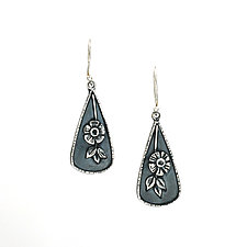 Posy Earrings by Vickie  Hallmark (Silver Earrings)