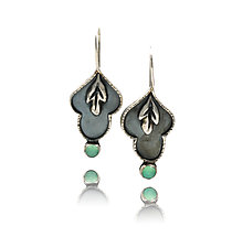 Sassafras Earrings by Vickie  Hallmark (Silver Earrings)