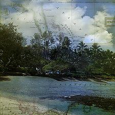 Azure Hideaway by Eugenie Torgerson (Color Photograph)