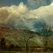 Swept Along in Unpredictable Weather by Eugenie Torgerson (Color Photograph)