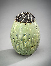 Granite Creek Vessel by Valerie Seaberg (Ceramic Vessel)
