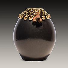 Tuart Eucalyptus Vessel by Valerie Seaberg (Ceramic Vessel)