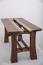 Lilly Coffee Table by Joshua Miller (Wood Coffee Table)