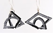 Cradle Earrings by Kathy King (Beaded Earrings)