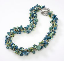 Coral Reef Necklace by Kathy King (Beaded Necklaces)