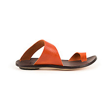 Thong Slide (Size 10.5 Only) by CYDWOQ  (Leather Sandal)