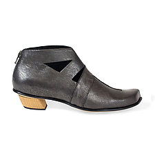 Intelligence Bootie by CYDWOQ  (Leather Bootie)