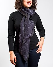 Kali Scarf by Janice Kissinger  (Silk & Wool Scarf)