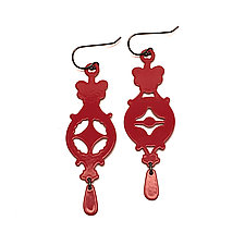 2-Piece Mismatch Earrings by Ashley Buchanan (Brass Earrings)