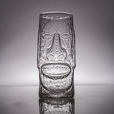 Glass Tiki Mugs by Andrew Iannazzi (Art Glass Drinkware)
