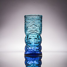 Tropical Tiki Mugs by Andrew Iannazzi (Art Glass Drinkware)