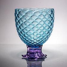 Medium Piña Glass by Andrew Iannazzi (Art Glass Drinkware)