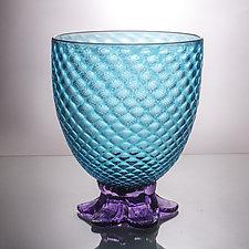 Large Piña Bowl by Andrew Iannazzi (Art Glass Bowl)
