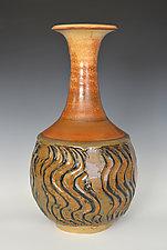 Ripples II by Tom Neugebauer (Ceramic Vase)