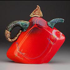 Baby Teapot by Michael  Kifer (Ceramic Teapot)