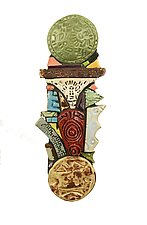 Altar by Cathy Gerson (Ceramic Wall Sculpture)