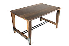 Huntsman Dining Table by Wes Walsworth (Wood Dining Table)