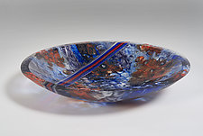 Clownfish School by Richard G. Berent (Art Glass Bowl)