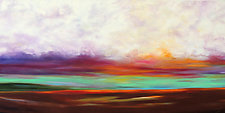 Glow in the Sky by Mary Johnston (Oil Painting)