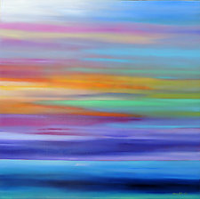 Beautiful Day IX by Mary Johnston (Oil Painting)