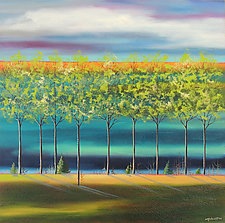 Spring by Mary Johnston (Oil Paintings)