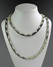 Beaded Scandinavian Necklace by Julie Long Gallegos (Beaded Necklace)
