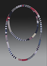 Bead Crochet Necklace - African by Julie Long Gallegos (Beaded Necklace)