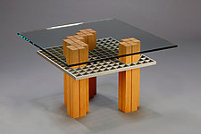 Go conFigure by Carol Jackson (Wood Coffee Table)