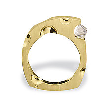 Mooncheese by Erik Stewart (Gold & Stone Ring)