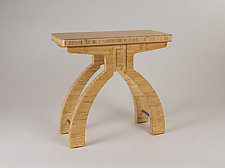 Long Life Bamboo Table by Jamie Jensen (Wood Side Table)
