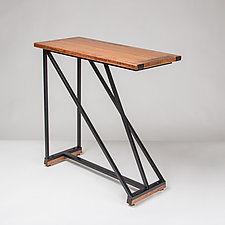 Angle Table by Jamie Jensen (Wood Side Table)