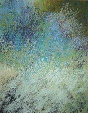 Hillside Picnic by Jan Jahnke (Acrylic Painting)