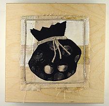 Bag o' Rocks by Ayn Hanna (Fiber Wall Hanging)