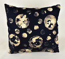 Many Moons by Ayn Hanna (Cotton & Linen Pillow)