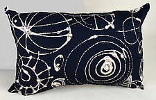 Wheels Rectangle by Ayn Hanna (Cotton & Linen Pillow)