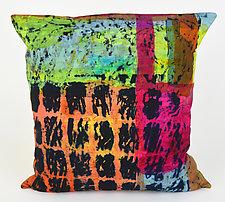 Garden Path Pillow by Ayn Hanna (Cotton & Linen Pillow)