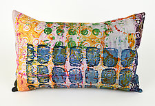 Street Smarts Pillow by Ayn Hanna (Cotton & Linen Pillow)