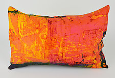 Sun Rise Pillow by Ayn Hanna (Cotton & Linen Pillow)