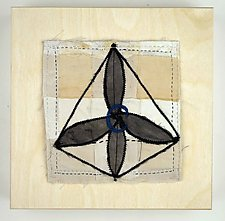 Organic Chemistry by Ayn Hanna (Fiber Wall Hanging)
