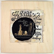 Courage Classic by Ayn Hanna (Fiber Wall Hanging)