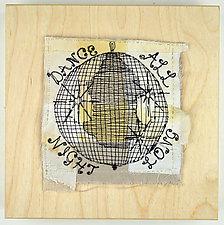 Disco D.J. by Ayn Hanna (Fiber Wall Hanging)