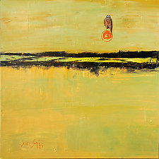 Vast Horizon, Bird Gazing by Janice Sugg (Oil Painting)