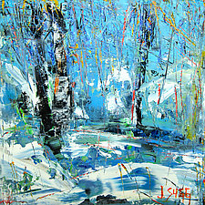 Forest Path by Janice Sugg (Oil Painting)