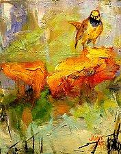 Saturday Bird II by Janice Sugg (Oil Painting)