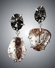 Rough Mineral Earrings by Aimee Petkus (Silver & Stone Earrings)