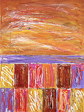 Southern Exposure by Betty Green (Mixed-Media Painting)