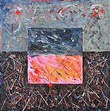 Nightflyers by Betty Green (Mixed-Media Painting)