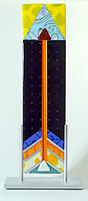 Arrow Series by Mary Johannessen (Art Glass Sculpture)