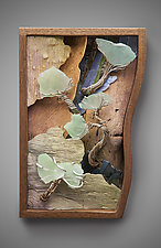 Imagination Scape by Aaron Laux (Wood Wall Sculpture)